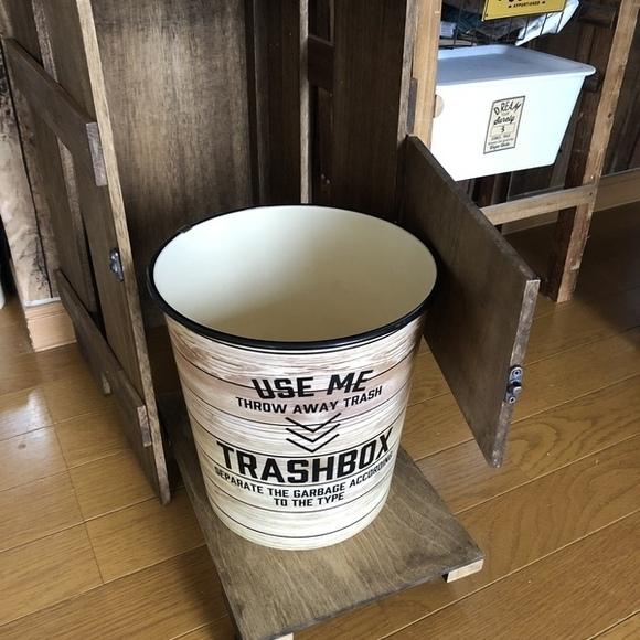 ゴミ箱収納のDIYアイデア4
