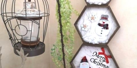 クリスマスも【セリア・ダイソー・キャンドゥetc.】でDIY☆手軽でおしゃれなディスプレイ