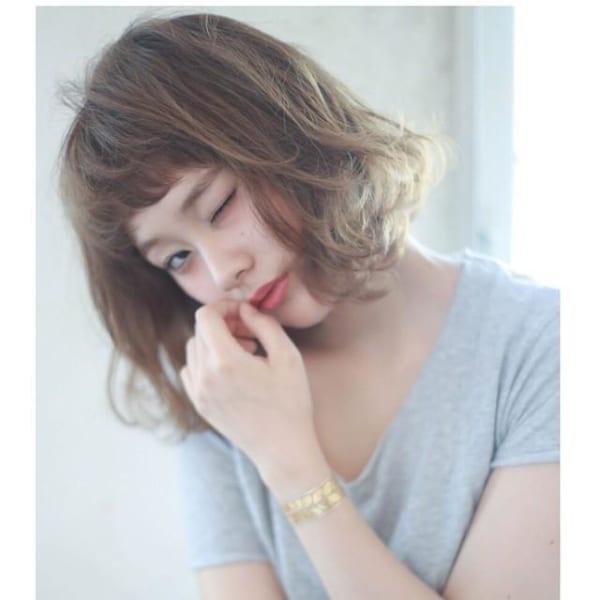 シースルーオン眉前髪5