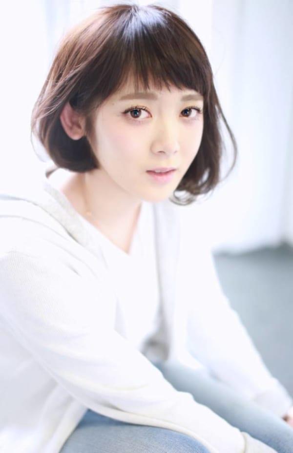 シースルーオン眉前髪2