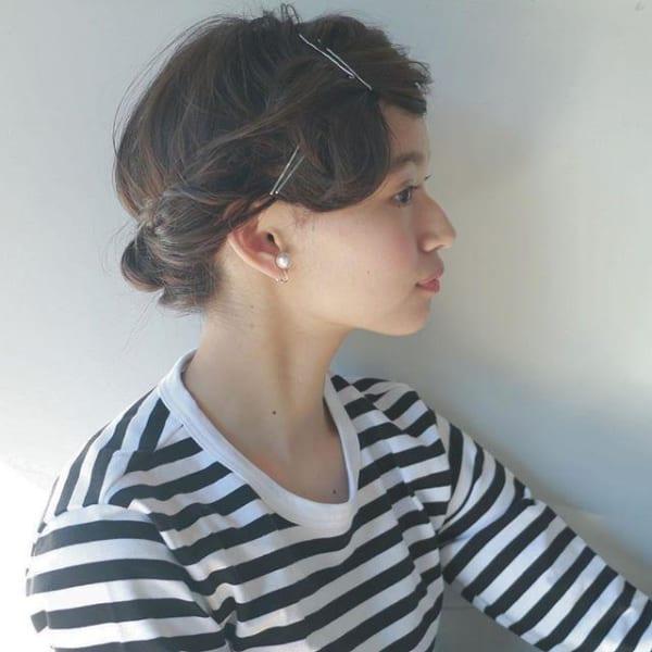 長い前髪を活かした魅力的なヘアスタイル29