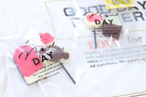 義理チョコ作りは簡単可愛く!100円ショップで作ってみよう☆7