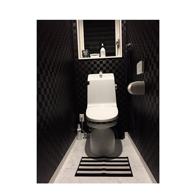 トイレインテリア ブラックトイレ
