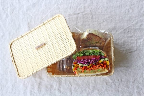 白竹のパンかご