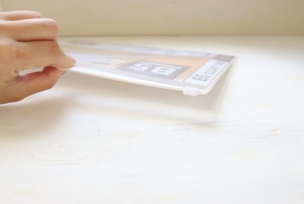 プリント収納 セリア 作り方9