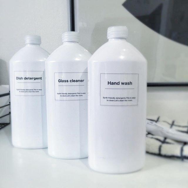 洗剤詰め替え容器 magicaの空きボトル