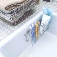 オシャレでスッキリとした洗面所に!整った空間をキープするための収納の工夫