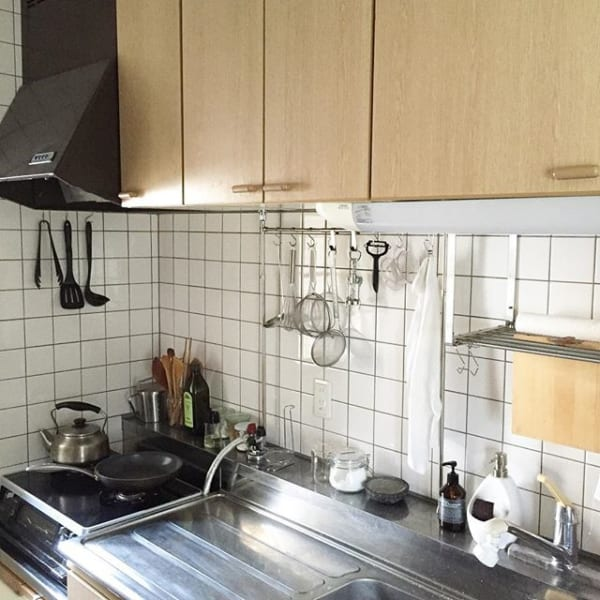ステンレスキッチン 天板9
