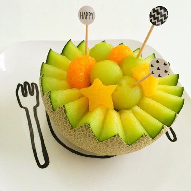 フルーツ 盛り付け2