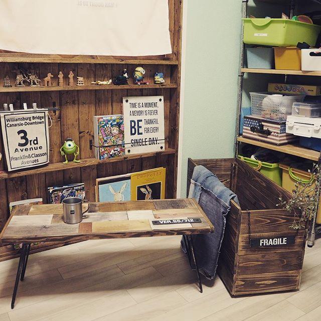 机DIY テーブル5