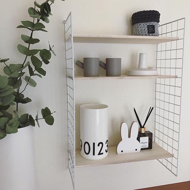 壁掛け収納DIY ワイヤーネット2