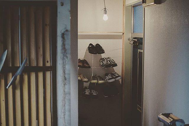 壁掛け収納 靴 ワイヤー棚