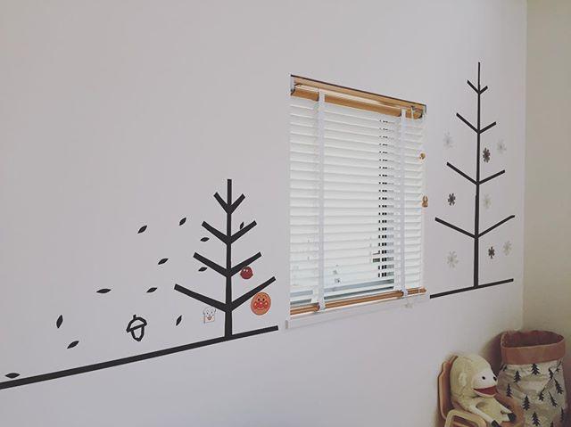 マスキングテープで壁を飾る3
