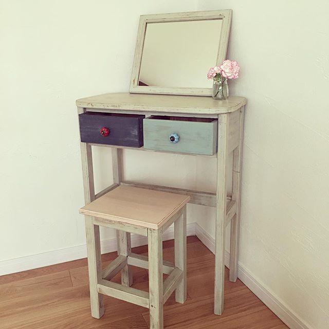 机DIY テーブル