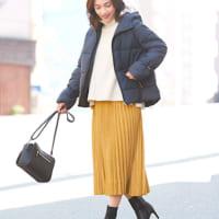 黄色のスカートコーデ50選♡ワンアイテムで着こなしをぐっと華やかに!