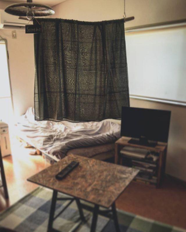 狭い部屋でも空間を工夫して