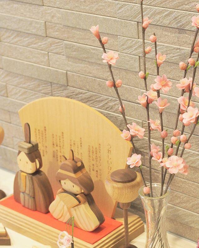 木製の雛人形2