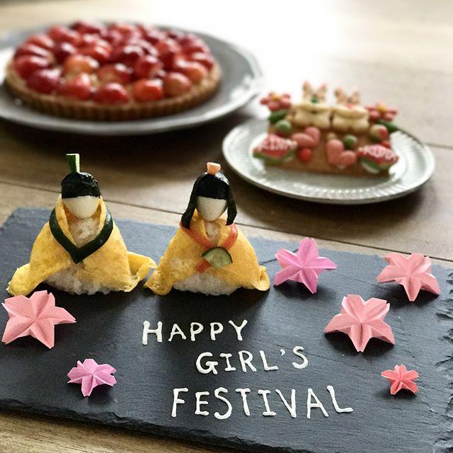 ひな祭り テーブルコーディネート