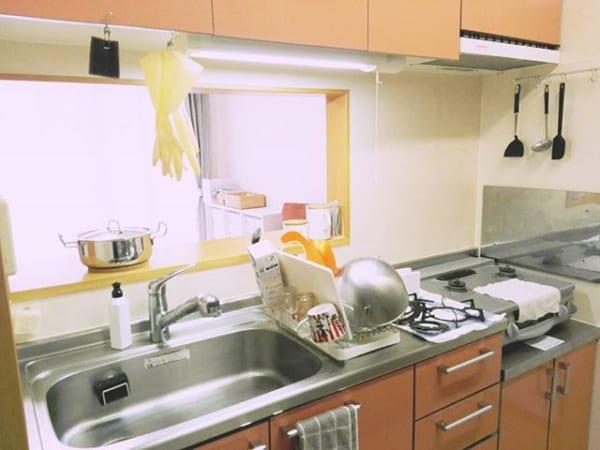 ステンレスキッチン 天板6
