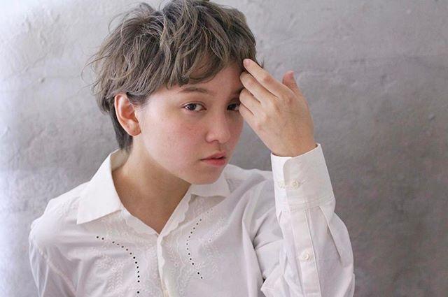 くせ毛 ショートヘア ショートカット18