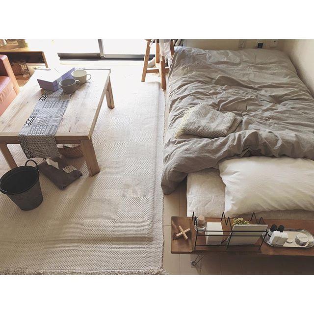 シンプルな家具ですっきりナチュラル