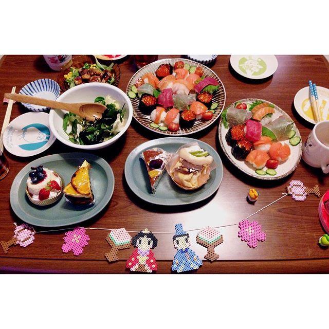 ひな祭り テーブルコーディネート2