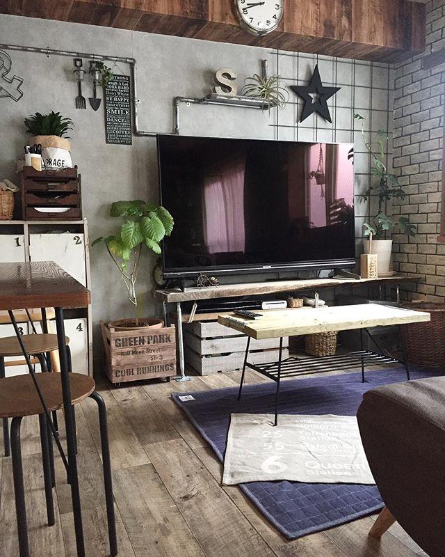 壁掛け収納DIY ワイヤーネット9