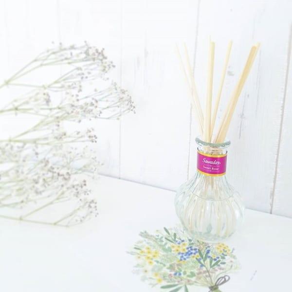 サワデー香るスティック 日比谷花壇セレクトスウィートローズ