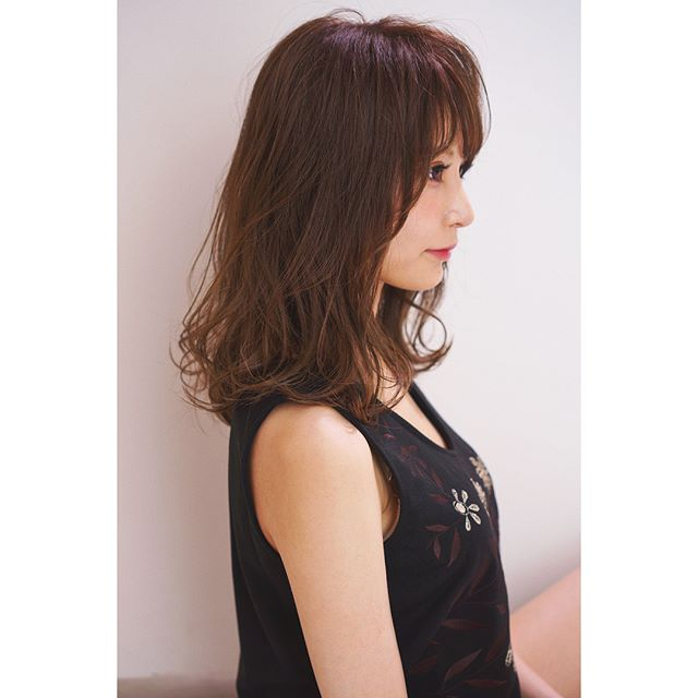 髪型に合わせた種類別パーマ②デジタルパーマ