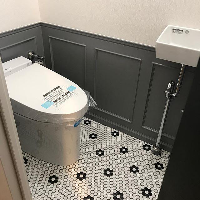 ブルックリンインテリアのトイレ6