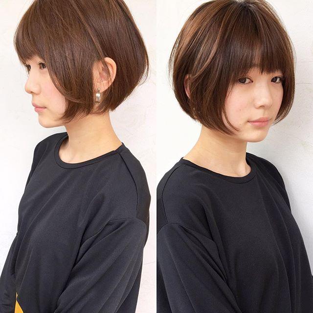 オシャレなヘアスタイル集 ショート3
