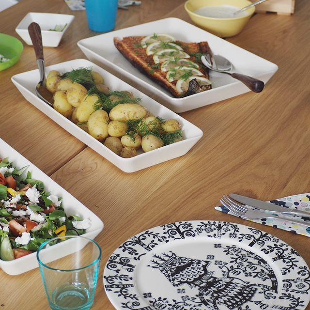 スクエア・プラタープレートはお料理が盛り付けやすい