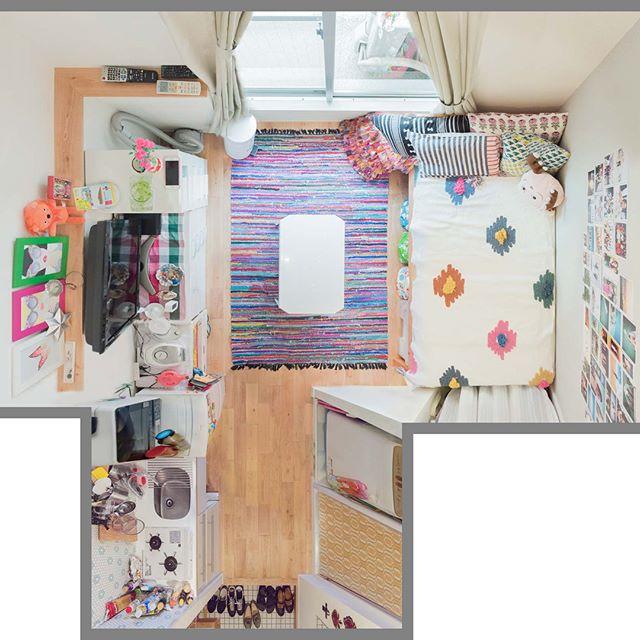お部屋を広く見せるコツ⑥お部屋のバランスを考えて配置をする