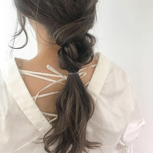 まとめ髪6