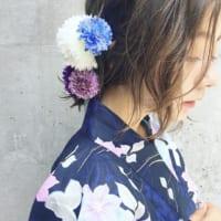 着物に似合うおしゃれな髪型特集♡レングス別にご紹介!