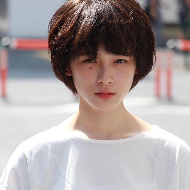 面長女性には前髪重めがおすすめ