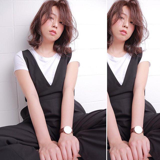 髪型に合わせた種類別パーマ②デジタルパーマ3