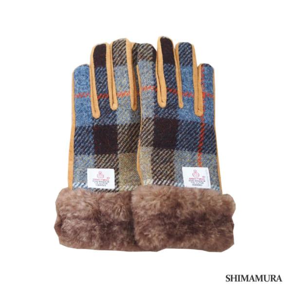 「ハリスツイード」の手袋