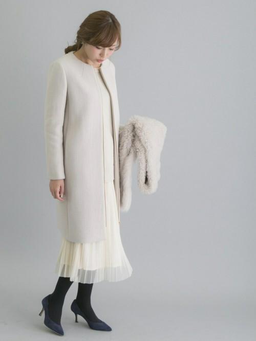 チュールスカート 白 ホワイト