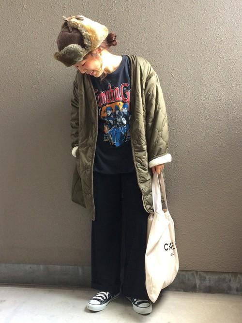 40代大人女子ファッション/パンツコーディネート2