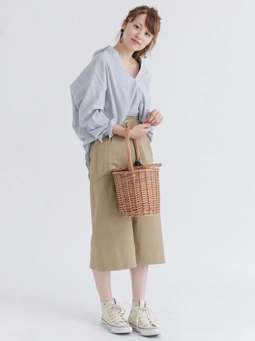 ウエストベルトタイトスカート