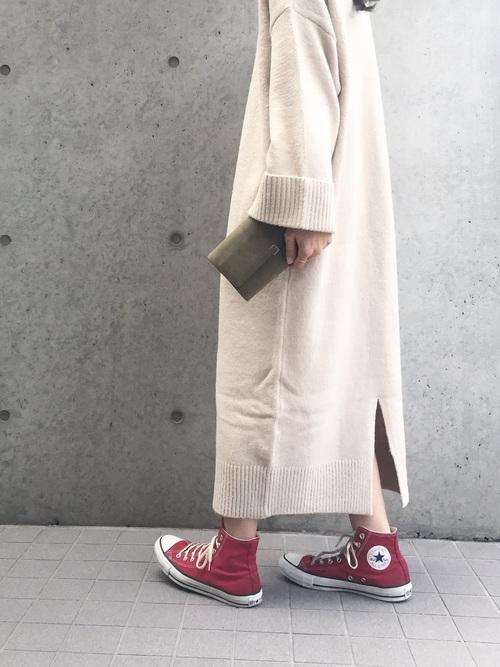 赤スニーカー3