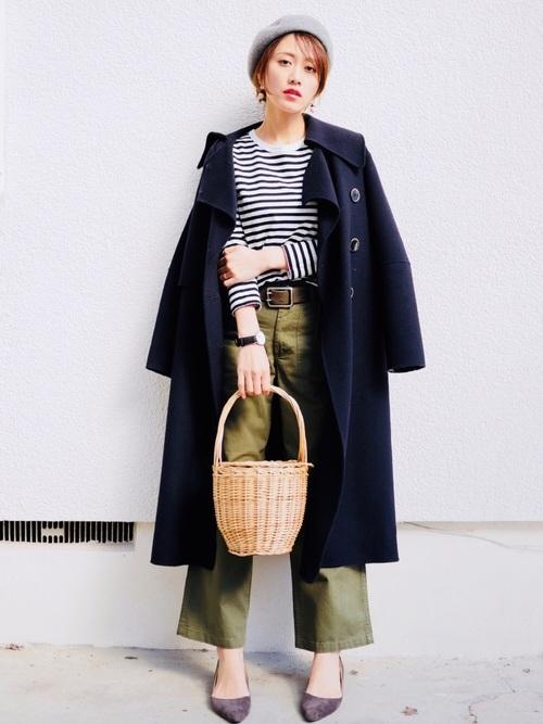 40代大人女子ファッション/パンツコーディネート18
