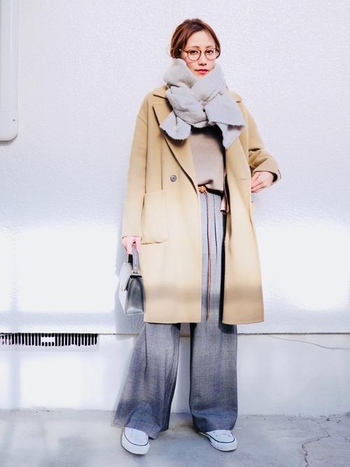 40代大人女子ファッション/パンツコーディネート4