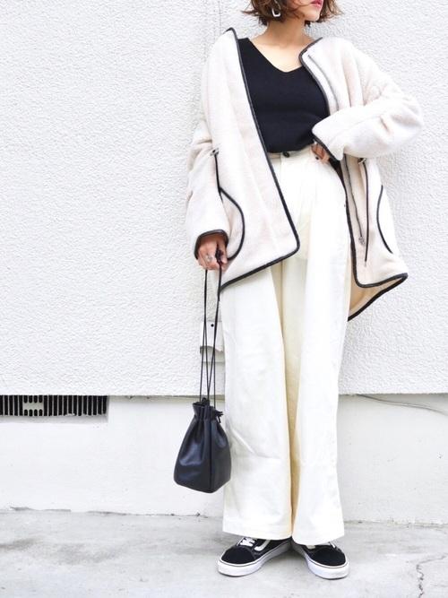 40代大人女子ファッション/パンツコーディネート26