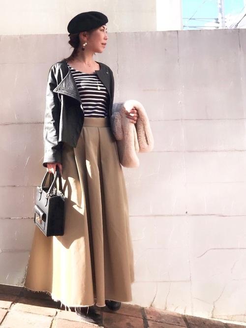 40代大人女子ファッション/スカートコーディネート21