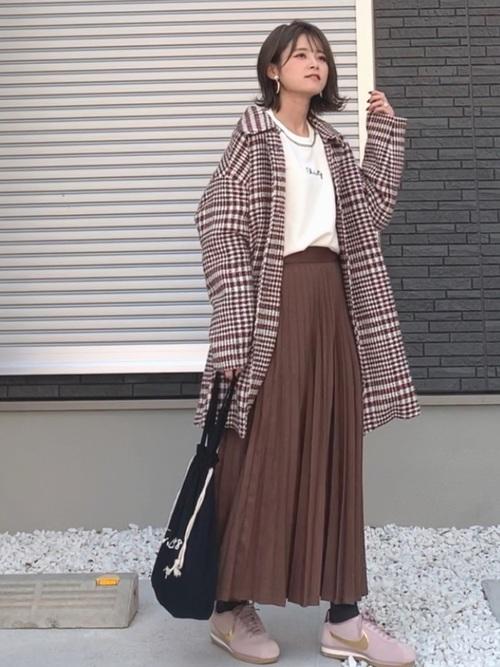 ZARAのスカート!プリーツで上品な装いを楽しもう♪11