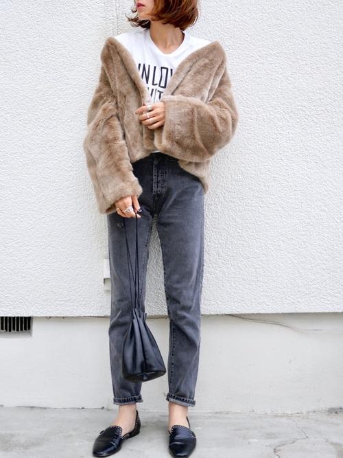 40代大人女子ファッション/パンツコーディネート22