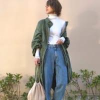 《最新ミリタリーコートコーデ49選!》大人女子の着こなし術を一挙ご紹介♡