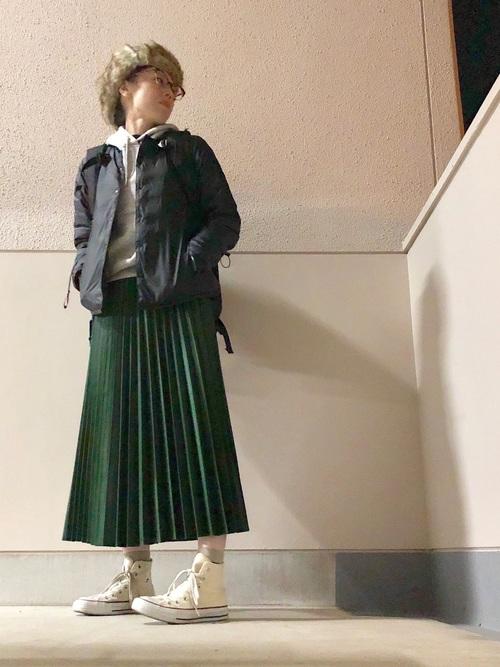 ZARAのスカート!プリーツで上品な装いを楽しもう♪16